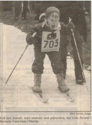 lina åker skidor (1)